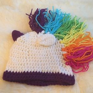 Other - Unicorn knitted hat